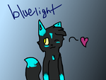 BlueLight ~Contest Entry~ by N0va-Is-Sp00py
