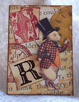 R is for Rabbit ATC by ValerianaSolaris