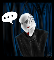 Whattheheck -Happy Slender Valentine- by FlameCurry
