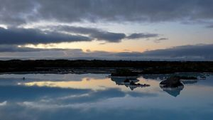 Blue Lagoon Reflections by rmbastey