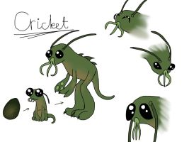 Spore creature - Cricket by Suolasilakka