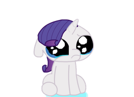 crying Rarity by Keanno