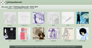 One Year With - 2011 by 16thSquadSanseki
