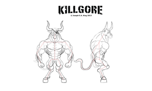 KillgoreTurnSketch by JosephKing