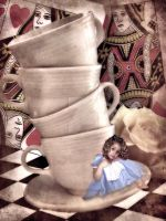 Alice At The Tea Party by jellybean2009