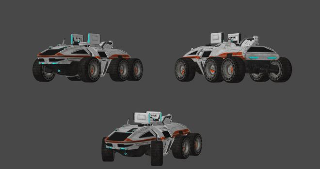 Andromeda Initiative Landing Vehicle by nach77