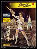 Retro Sci Fi Cover by ArtReferenceSource