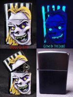 Beetlejuice Zippo by Undead Ed 1 by Undead-Art
