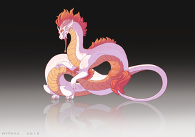 Imperial Dragon. by Mythka