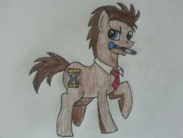 Dr Whooves Original by pandababy28