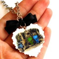 Tweedles Necklace by FatallyFeminine