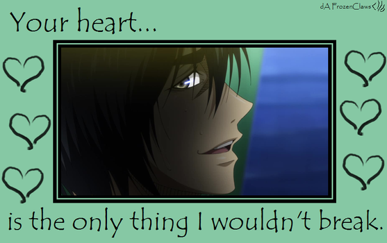 Kuroko no Valentine: I can't break your heart by FrozenClaws