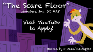 [CLOSED] The Scare Floor OC MAP by Blairaptor