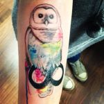 Owl Tattoo by Flennkeks