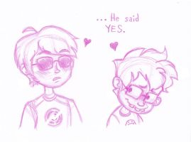 ...He said YES by kitten-burrito