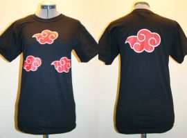Naruto Cloud Shirt by rogueymu