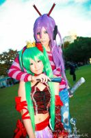 Vocaloid Cosplay : Gakupo Miku by yuegene