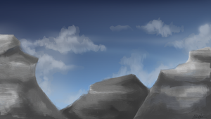 Mountains by MyMineAwesome