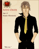 AOHC character - Aevis Oxide by Comatoze