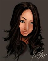 Fashion Portrait 1 by Hojin-tron