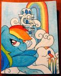 Home Sweet Home - Rainbow Dash by FrogAndCog