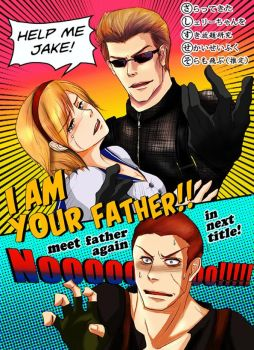 I am your father! [Resident Evil] by pinoqino