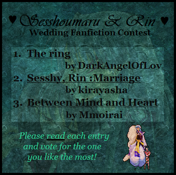 Wedding - Fanfiction CONTEST by Sesshoumaru-and-Rin