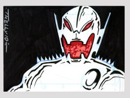 ultron black by TomKellyART