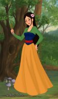 Mulan - Fairytale Maiden by IndyGirl89