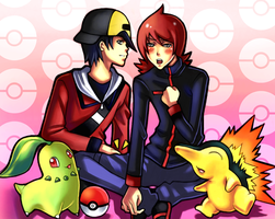 POKEMON: Gold x Silver- RIVALS by BaneIing