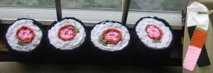 Sushi Scarves by MimsyGirl