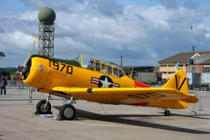 North American AT-6D Texan by Daniel-Wales-Images