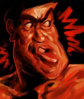 Expression Sketch 3 (Sonny Chiba Edition) by TR-B