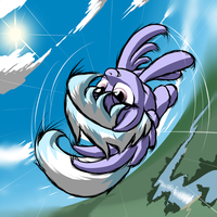 Do a Barrel Roll, Cloudchaser! by MykeGreywolf
