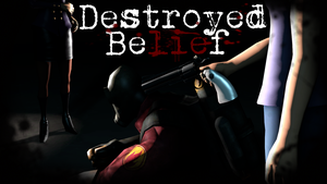 Destroyed Belief Poster by Robogineer