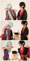 Hoozuki No reitetsu cosplay by Pepa-sama