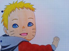 'Where's the little boy?'' Baby Naruto (RtN) by SakakiTheMastermind