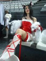Ahri Cosplay VII by Aleeusha