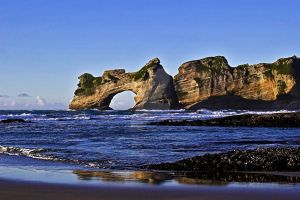 Whaririki Arch by carterr