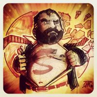BEARTONS MAN OF STEEL by ultimate-dam