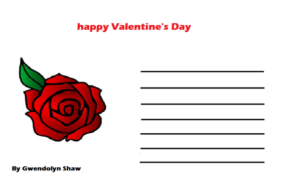 Valentine's Day letter by makeitsnappy25
