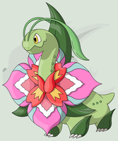 #154 Mega) Meganium by RaiZhuW-The-Real