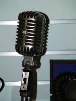 microphone 1 by JensStockCollection