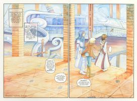 The Airship plans - pages 1+2 by Yakra
