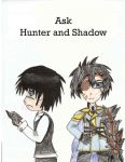 Ask Hunter and Shadow by MadamFrost
