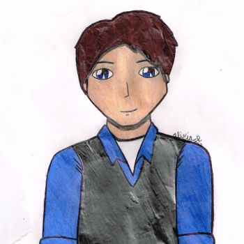 Another Jack Harkness Drawing Scanned by Aliciadistrictclove