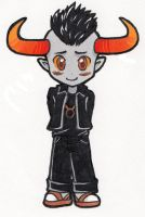 Chibi Tavros by rose-star