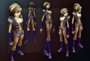 Spore female 67 by soupfamily