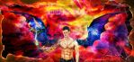digital : supernatural dean mark cain 01 2014 by darshan2good