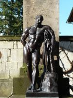 copper male statue by two-ladies-stocks